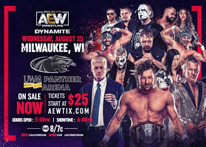 "NEW DATE: AEW Presents ""DYNAMITE"""