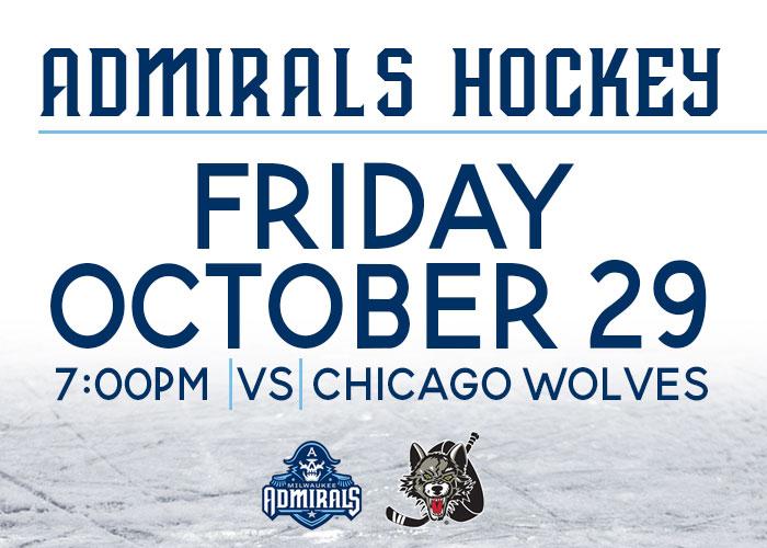 Milwaukee Admirals vs. Chicago Wolves